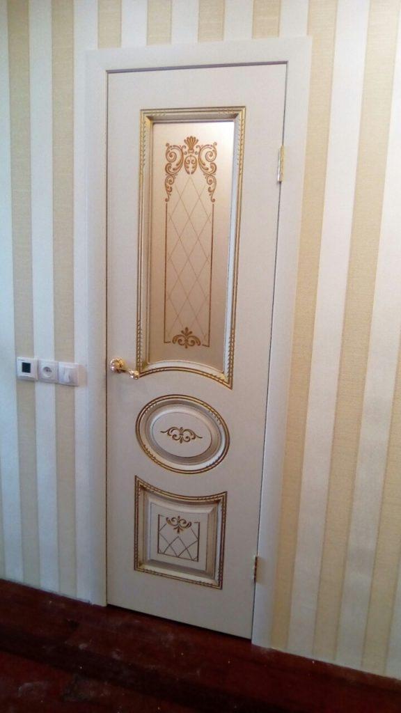 """Дверь """"Ария"""" эмаль белая в интерьере"""
