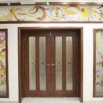дверь Клеодора (шпон американского ореха) в интерьере