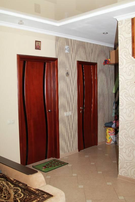 Дверь Волна в интерьере