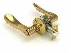 Ручка-защелка 891-03РВ (золото)