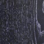 Натуральный шпон Дуб черный патина серебро