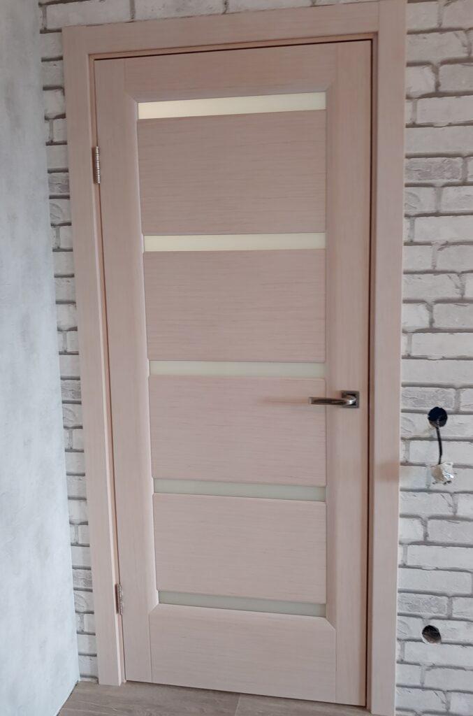 Дверь Деметра беленый дуб