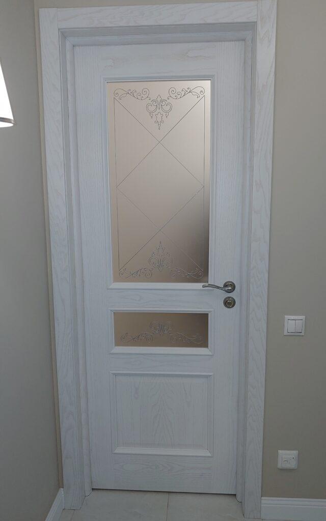 """Дверь """"Калина"""" белый ясень"""